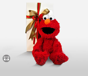 Elmo In Red-Red,Teddy Bear,Gifts