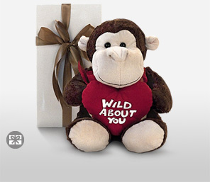 Wild About You Bear-Teddy,Soft Toys,Gifts