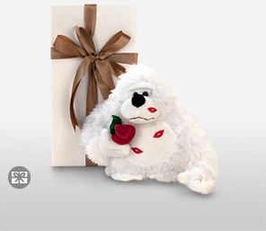Mr. Gorilla With Hot Lips-Teddy,Soft Toys,Gifts