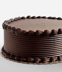 Chocolate Cake 0.6 Kgs-Chocolate,Cakes,Gifts