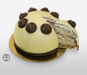 500 gms Walnut Cream Cake-Cakes,Sweets