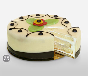 Marzipan Cake 500gms-Cakes,Sweets