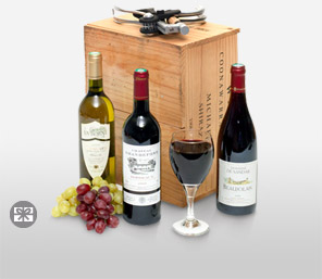 Jolly Wine Hamper-Wine,Hamper