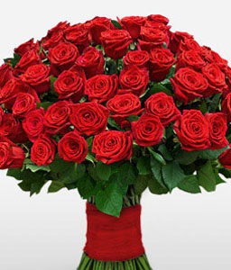 100 Red Roses-Red,Rose,Bouquet