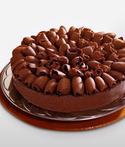 Dark Chocolate Cake 1 Kg-Chocolate,Cakes,Gifts