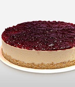 Cheesecake with berries 1 kg-Cakes,Gifts