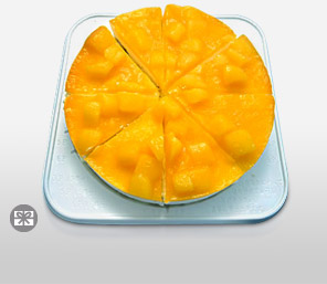 Mango Cheese Cake 15 cm-Cakes,Sweets,Gifts