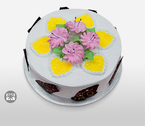 Vanilla Cake 600g-Cakes,Sweets,Gifts