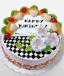 Cream Cake 10 Inches-Cakes,Sweets,Gifts