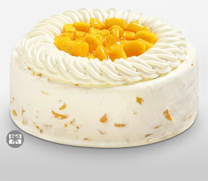 Mango Cake 8 Inches-Cakes,Sweets,Gifts