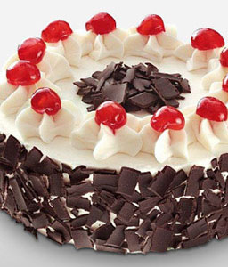 Black Forest Cake - 35oz/1kg-Chocolate,Sweets,Gifts,Cakes