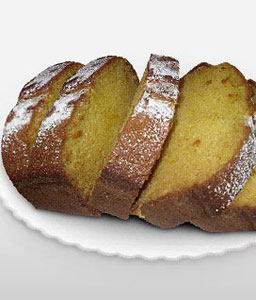 Vanilla Plum Cake - 35oz/1kg-Cakes,Sweets,Gifts