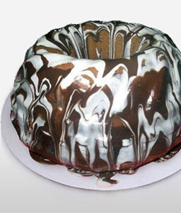 Black & White Donut 1 Kg-Chocolate,Cakes,Sweets,Gifts