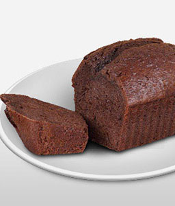 Chocolate Plum Cake 1 Kg-Chocolate,Cakes,Sweets,Gifts
