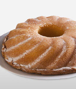 Vanilla Egg Donut - 35oz/1kg-Cakes,Sweets,Gifts