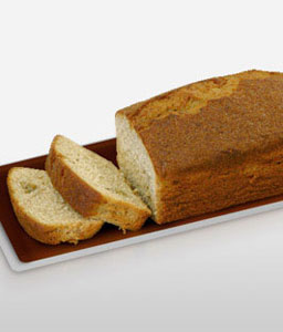 Banana Cake Loaf 380G-Sweets,Gifts,Cakes