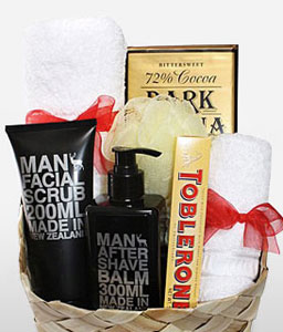 Spa Time Hamper For Him-Spa,Hamper,Gifts