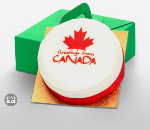 Fruit Cake - Canada Greetings Cake, 1 KG-Cakes