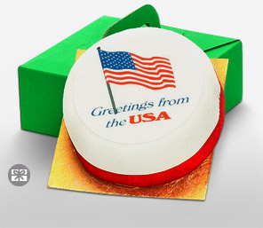 Fruit Cake - USA Greetings Cake, 1 KG-Cakes