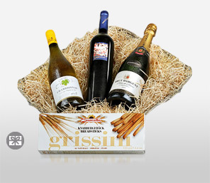 Fine Wine Basket-Wine,Hamper