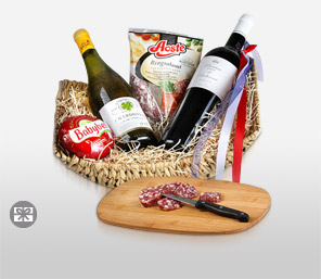 French Gourmet Basket-Wine,Hamper