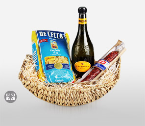 Italian Gourmet Surprise-Basket