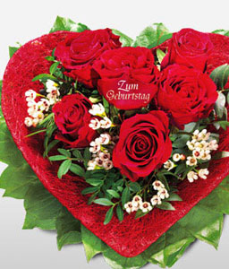 Sparkling Roses-Mixed,Red,White,Chocolate,Rose,Bouquet,Sweets