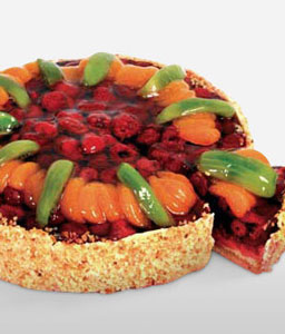 Mix Fruit Cake - 1Kg Contains Egg-Cakes