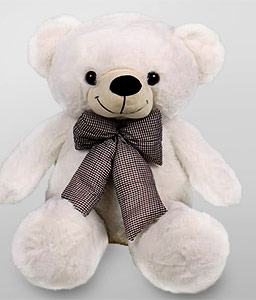 Teddy Love-White,Teddy Bear,Soft Toys