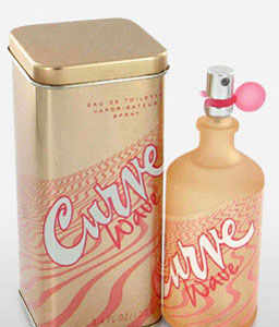 Curve Wave By Clairborne - 3.4 Oz-Perfume