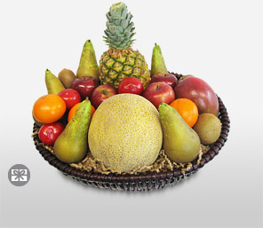 Tropical Fruit Basket-Fruit,Basket