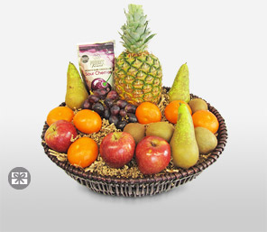 Majestic Fruit Basket-Fruit,Basket
