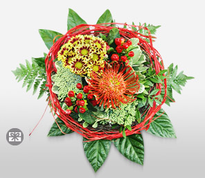 Seraphic Seasons-Green,Mixed,Red,Yellow,Arrangement