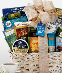 Thank You Gift Basket-Chocolate,Hamper