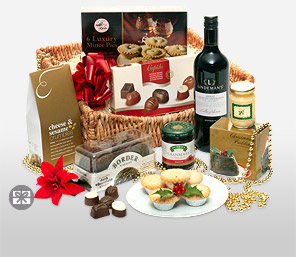 Winter Enchantment-Chocolate,Wine,Hamper