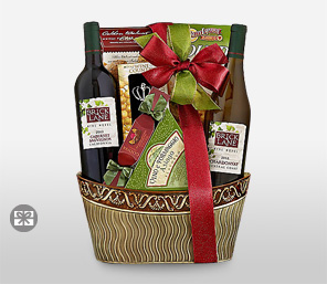 Double Delight-Wine,Hamper