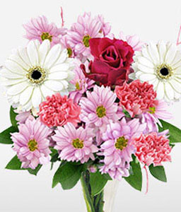Ballerina <Br><span>Mixed Flower Bouquet - Sale $15 Off</span>