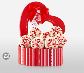 Valentine Cookies-Chocolate,Hamper