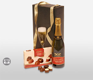 Aphrodisiacs-Chocolate,Wine,Hamper