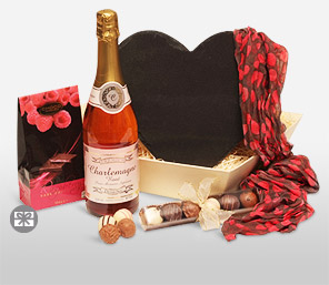 Temptation-Chocolate,Wine,Hamper