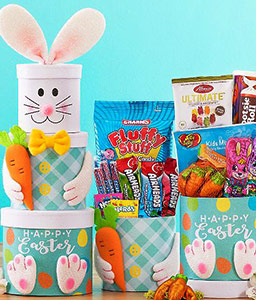 Easter Bunny Sweet Treat-Basket,Hamper