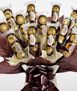 Ferrero Rocher Bouquet-Chocolate,Gifts