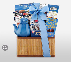 Tea Time Basket-Basket,Gifts