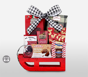 Sweets Sleigh Basket