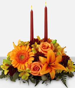 Thanksgiving Centerpiece <Font Color=Red>Sale $20 Off </Font>