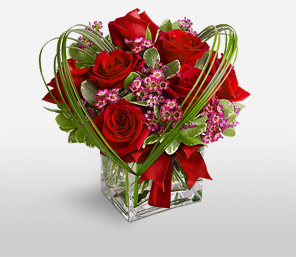 Colors Of Christmas-Red,Rose,Arrangement