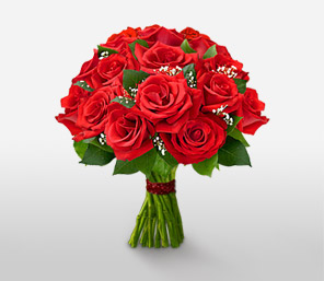 Christmas Red-Red,Rose,Bouquet