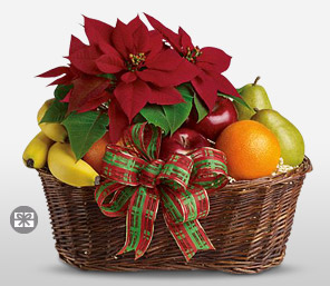 Fruity Christmas Basket