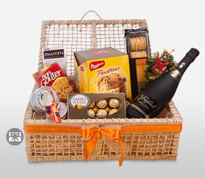 Sweet And Salty Christmas-Cava Freixenet, Panettone Bauducco, Parmesan