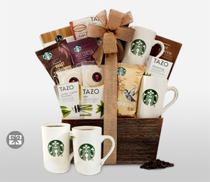 Starbucks On The Go Hamper